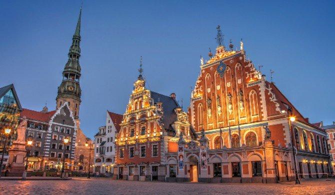 Latvia: 4 Star Riga City Break w/Flights & Breakfast