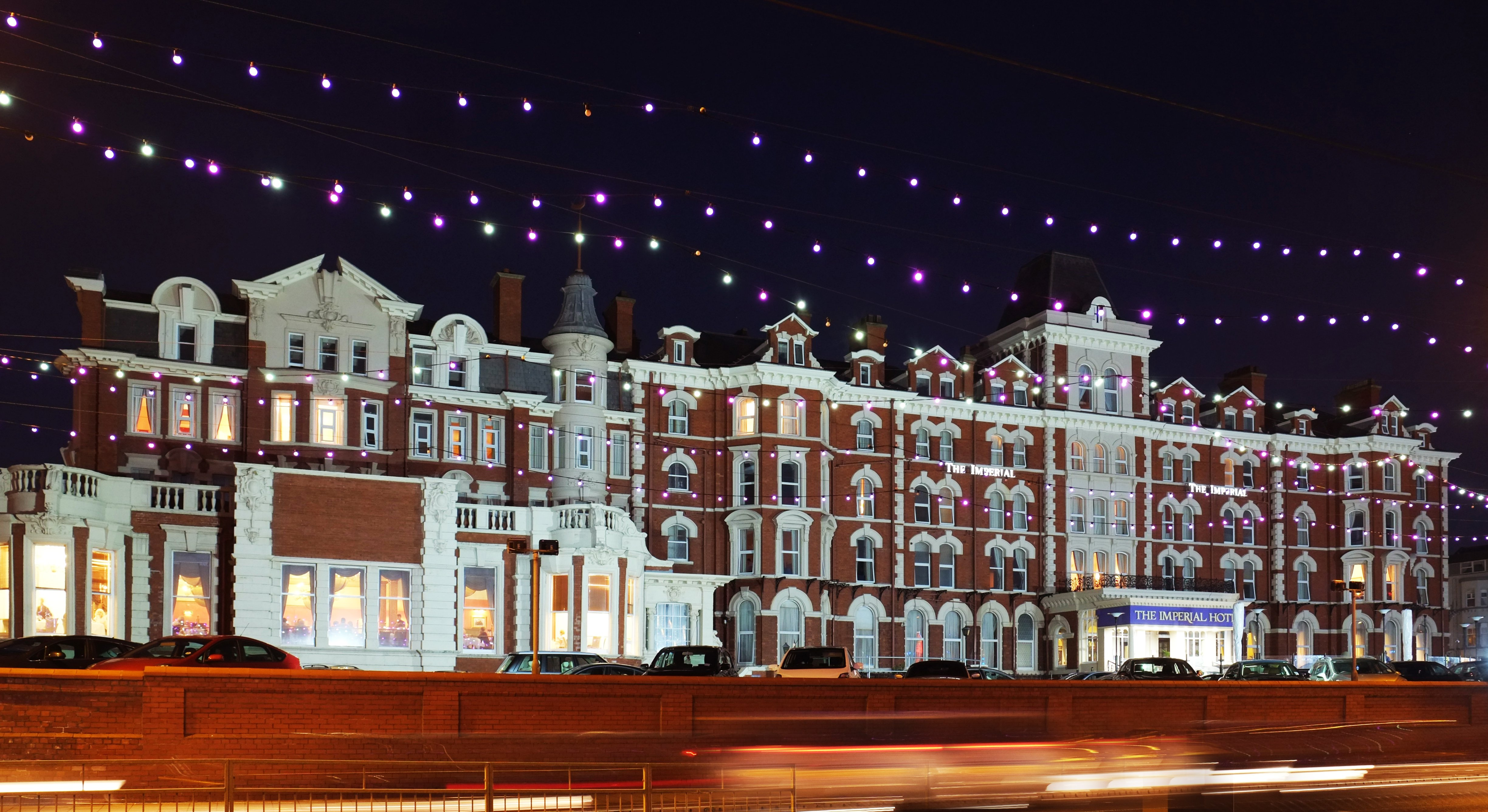 4* Blackpool Promenade Stay with optional afternoon tea, 3 course dinner and bar credit