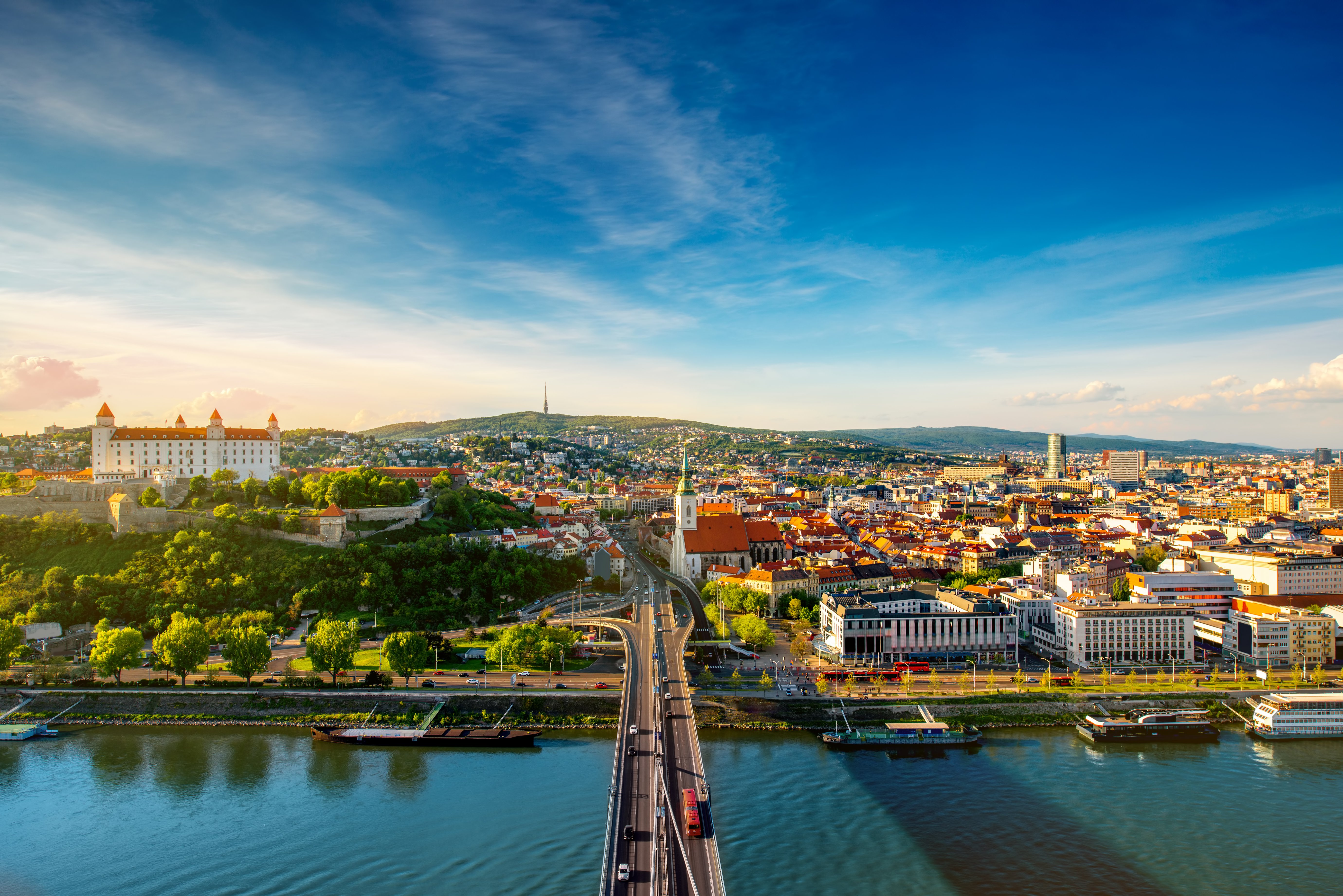 Slovakia: 4* City Break Overlooking Bratislava Castle