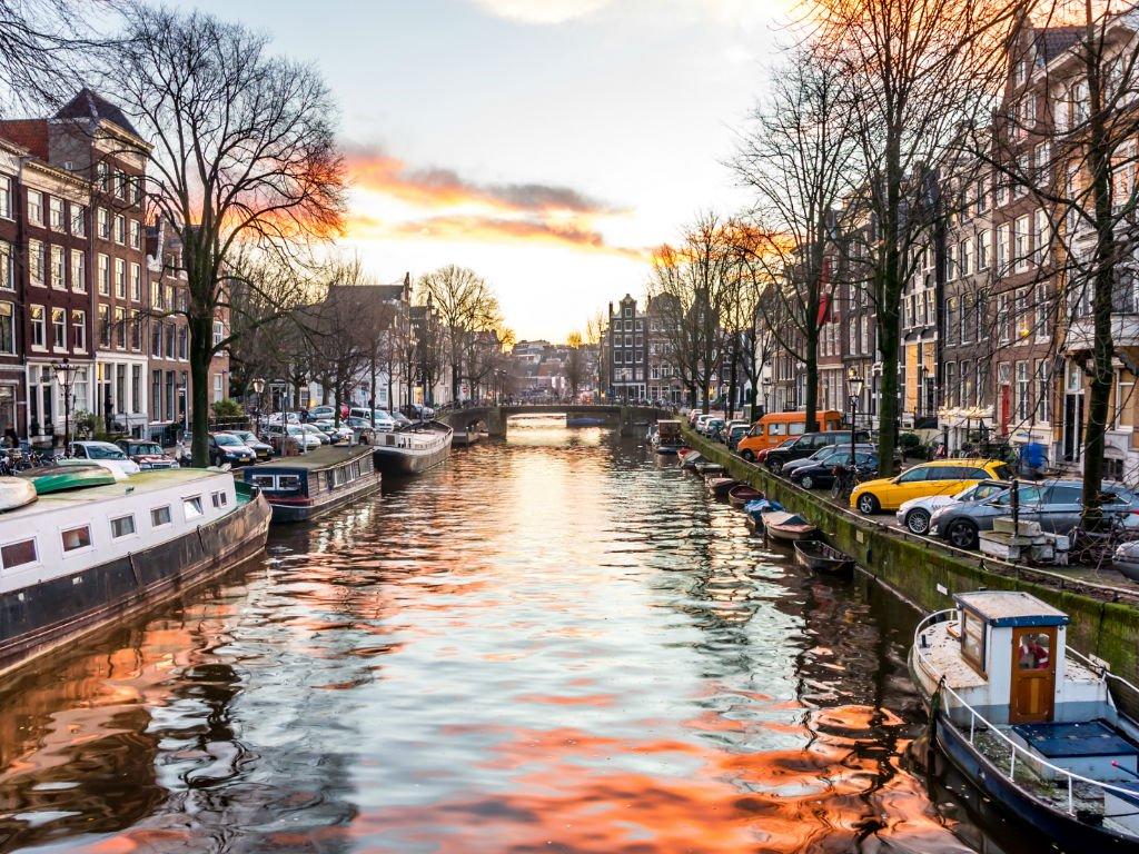 Amsterdam: City Break to Award Winning Hotel w/Flights & Kids Stay FREE