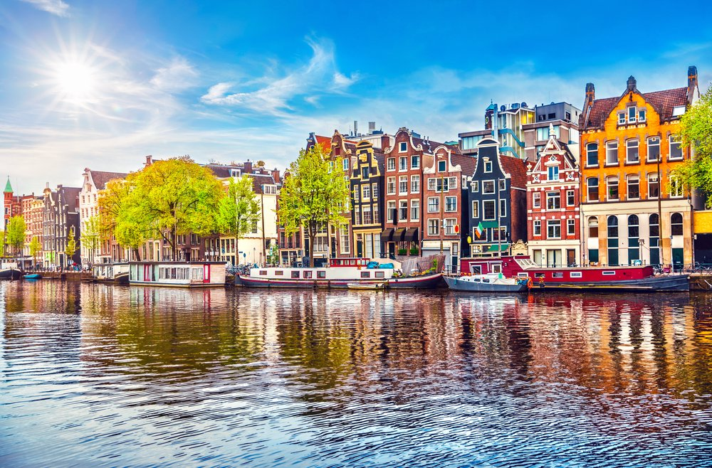 Amsterdam: 4 Star Award Winning Hotel with Vitality Spa & Flights
