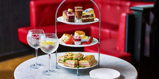 Afternoon Tea with G&T at Café Rouge, Save up to 48%