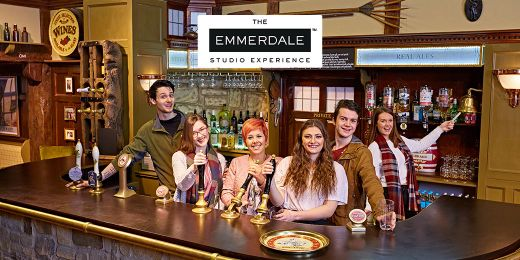 Leeds: Gift Vouchers for The Emmerdale Studio Experience. Perfect for any fan of the soap!
