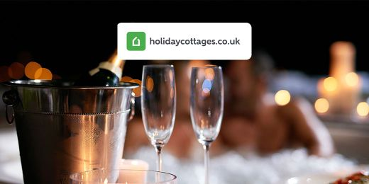 Romantic Breaks: Cottages with Hot Tubs. Book with holidaycottages.co.uk