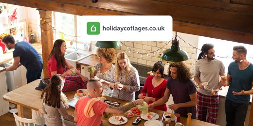 Short Breaks for Groups: Large Cottages with Play Facilities