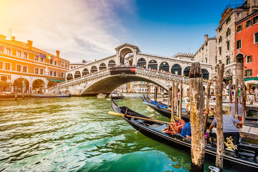 Venice: Award Winning 4 Star Hotel with Breakfast & Flights