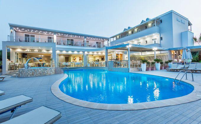Halkidiki: Award Winning 4 Star Hotel with Lagoon Style Pool, Flights & Kids Stay FREE