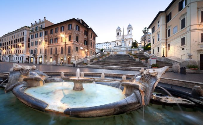 Rome: Short Break to Hotel Near the Spanish Steps w/Flights