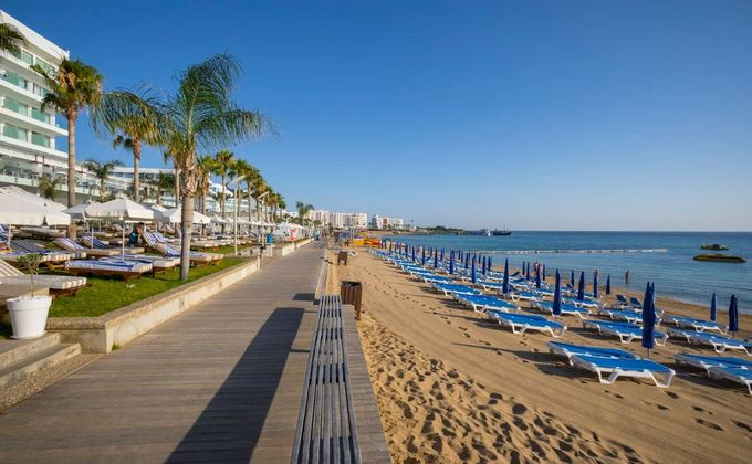 Cyprus: Luxury 5 Star All Inclusive Christmas or New Year Holiday to Protaras w/Private Beach