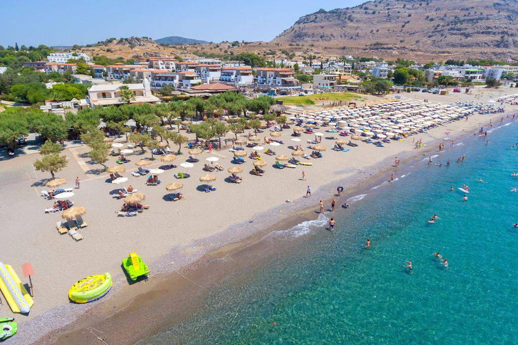 Rhodes: All Inclusive Beachfront Holiday w/Kids Stay FREE